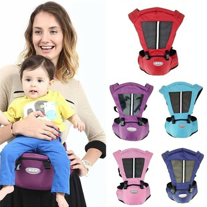 Infant Hip Seat Waist Bench Stool Travel Baby Toddlers Carrier Kids Holder Seat Backpacks