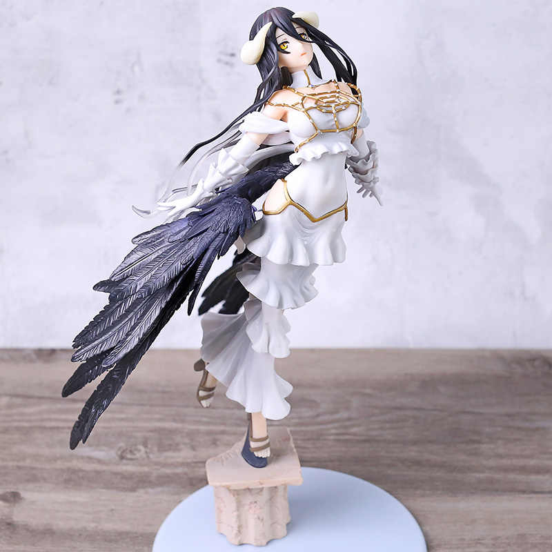 Anime Albedo 1/8 Skala PVC Figure Collectible Model Toy Brinquedos