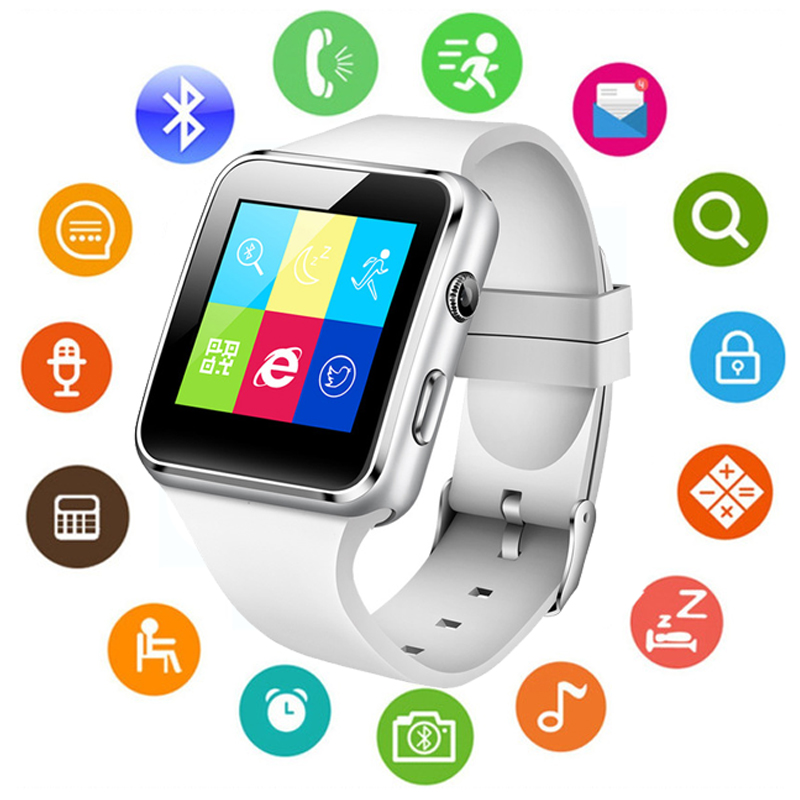 Pedometer Calorie-Camera Smart-Watch Bluetooth Support Touch-Screen NEW X6 SIM Tf-Card