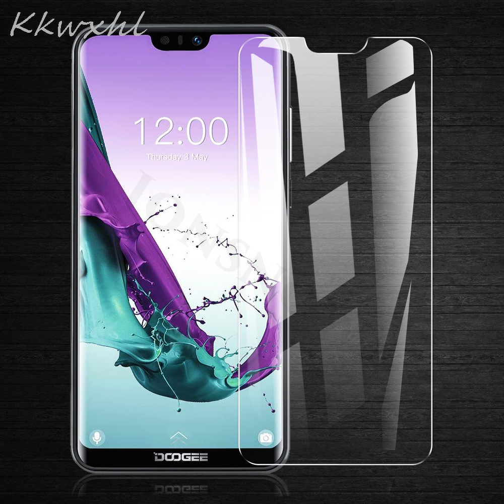 2pcs Tempered Glass for Doogee N10 X100 S40 S90 Pro X90 X90L Y8 Y8c S55 S60 S70 S80 BL5500 Lite Protective Film Screen Protector(China)