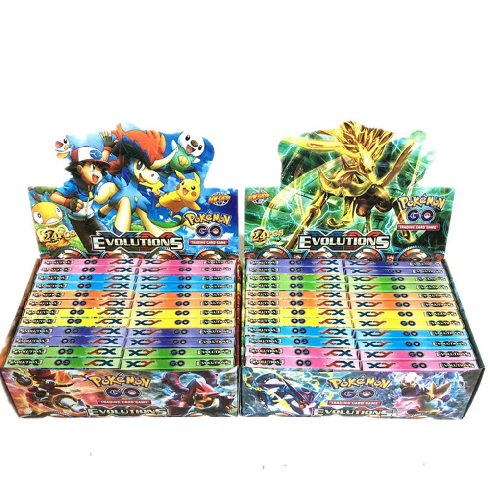 TAKARA TOMY  324Pcs Basic Cards With Shining Cards The Newest Style In 2019 Pokemon Card The Toy Of Children