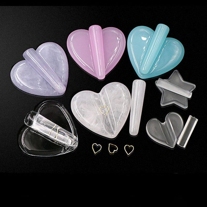 Купить 1 шт star/гвоздь в форме сердца арт металлической заклепки тиснением
