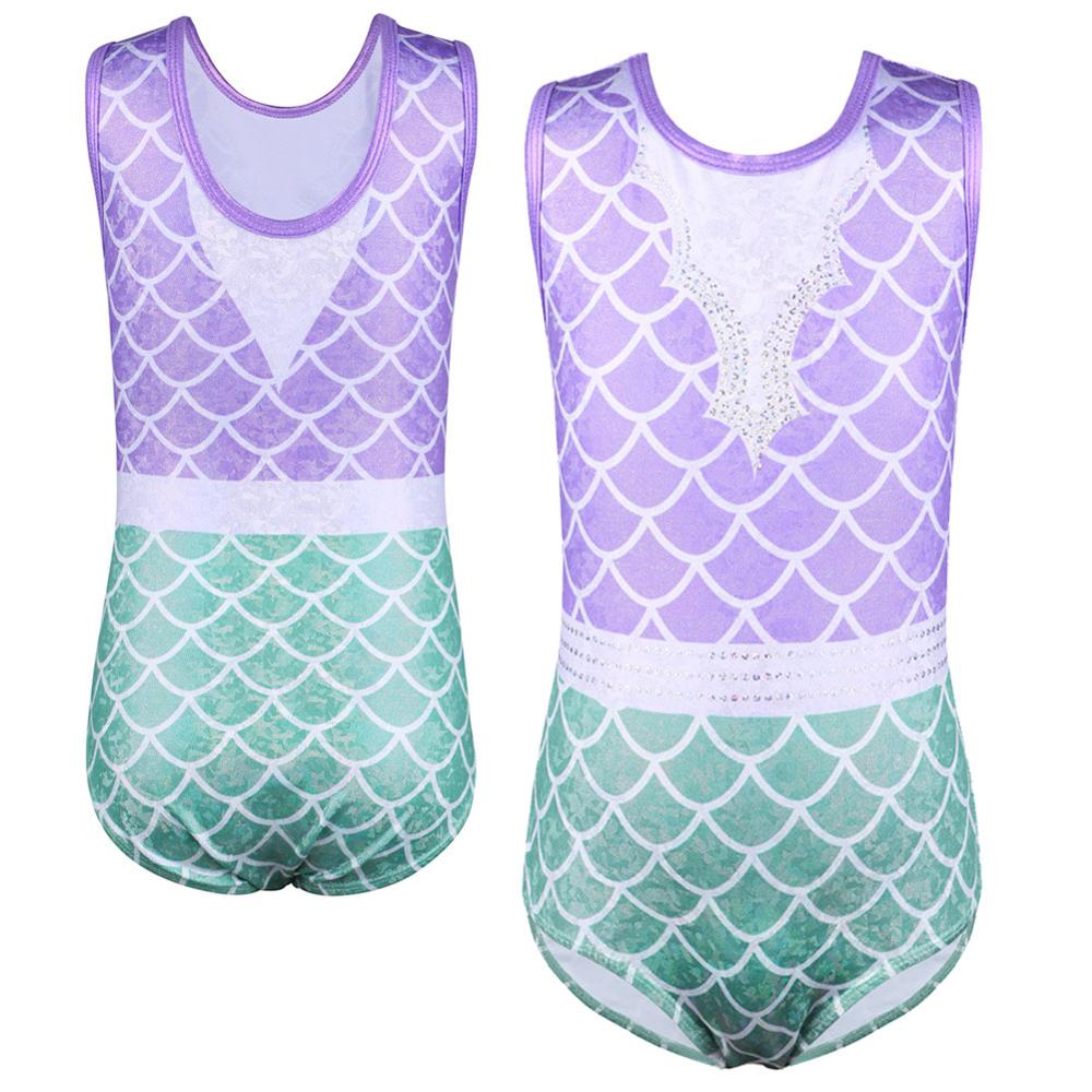 BAOHULU Toddler Kids Leotards For Girls Teens Novelty Gymnastics Jumpsuit Ballet Dancer Athlete Bodysuit Acrobats Clothes