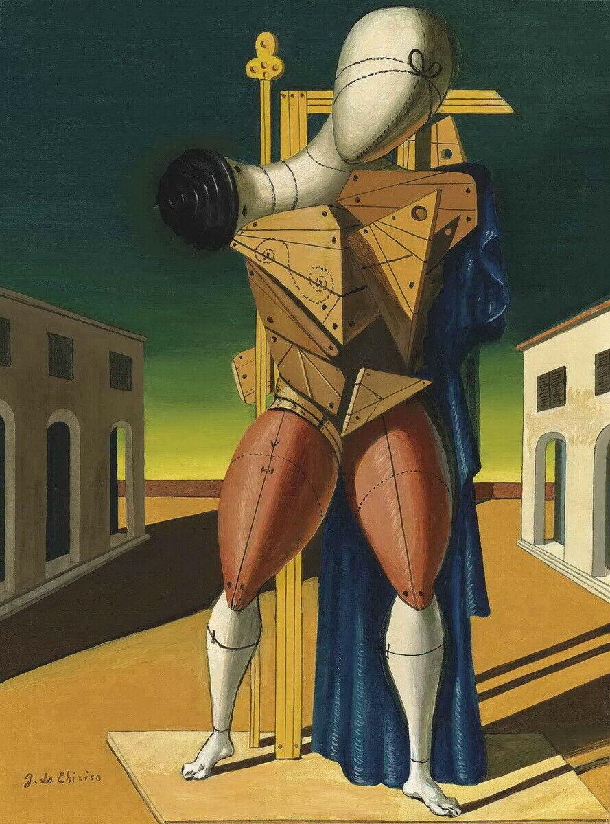 A Troubadur by Giorgio De Chirico