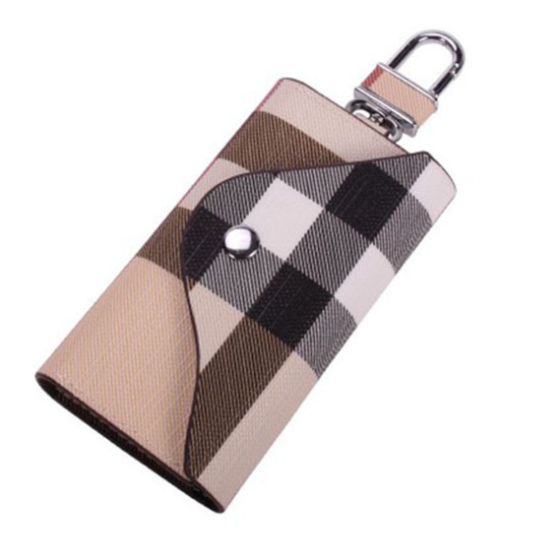 2020 Plaid Design Luxury  European And American Fashion KEY CHAIN HOLDER KEY HOLDER BAG