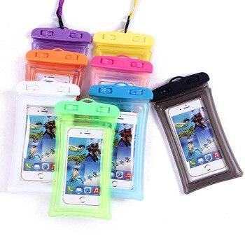 Shellbox uniwersalna pływająca poduszka powietrzna torba pływająca wodoodporne etui na telefon komórkowy etui na telefon do pływania nurkowanie Surfing korzystanie z plaży