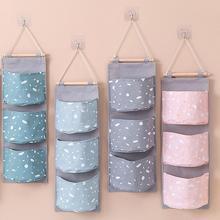 3 отделения, ткань Оксфорд настенный дверной подвесной сумка для хранения мелочей сумка-Органайзер из высокой плотности ткани Оксфорд материал прочный