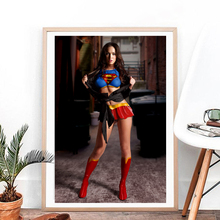Meganor Foxes Hot Sexy Girl Model Canvas Posters Prints Wall Art Painting Oil Decorative Picture Modern Bedroom Home Decoration