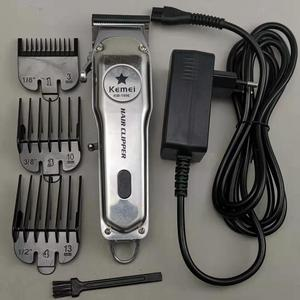 Image 5 - All metal Professional hair clipper electric hair trimmer for men haircutting machine hair cut compatible for moser barber