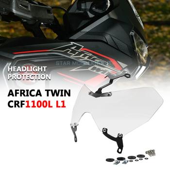 Dla Honda CRF1100L L1 afryka Twin CRF 1100 L 2020 2021 ochrona reflektorów Protector reflektor folia ochronna światło przednie pokrywa tanie i dobre opinie Star Moon Knight CN (pochodzenie)