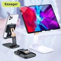 Essager-soporte plegable para teléfono móvil, mesa de gravedad Flexible para iPhone, iPad Pro, tableta