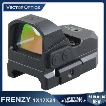 Vector Optics Frenzy 1x17x24 Red Dot Scope Pistol Handgun Sight IPX6 Water Proof Fit 21mm Picatinny GLOCK 17 19 9mm AR15 M4 AK - sale item Hunting