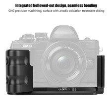 Duurzaam Quick Release Qr L Vormige Camera Beugel Verticale Grip Voor Olympus EM10 Iii Camera