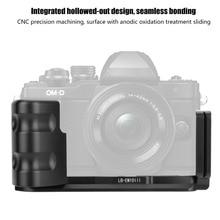 Soporte de cámara en forma de L QR de liberación rápida, duradero, agarre Vertical para cámaras Olympus EM10 III