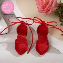 High-heeled Shoes for 1/4 BJD Dolls diy