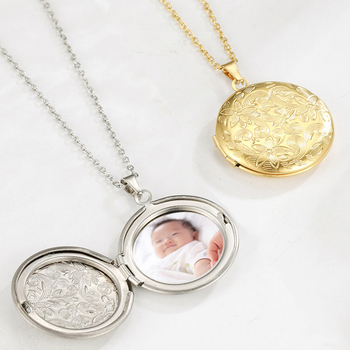 Personal Custom Name Photo Frame Filigree Family Baby Pregnant Mother Gift For Wife Husband Gold Color Necklace Women Jewelry rose gold color family tree necklace mother s necklace with birthstone grandmas gift custom gift for mother