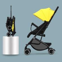 5.5KG High Landscape Baby Stroller Lightweight Baby Strollers Foldable Portable Four-wheel Stroller Baby Carrier Pushchair Cart