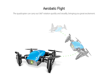 S9HW Mini Drone With Camera S9 No Camera RC Quadcopter Foldable Drones Altitude Hold RC Quadcopter WiFi FPV Pocket Dron VS CX10W 4