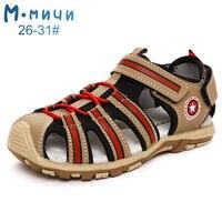 Mmnun 3 = 2 靴は子供のための整形外科靴サンダル子供 2019 夏のサンダルボーイズサイズ 22-31 ML128