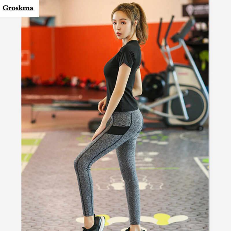4 חתיכה סט נשים מהירה יבש ספורט ריצה מעיל + חזייה + t חולצה + חותלות כושר חדר כושר yoga חליפה חיצוני אימון סטי בגדים