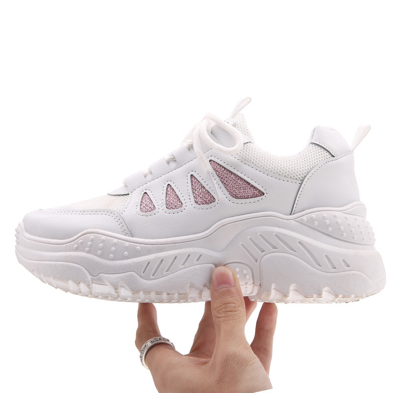 Mesh Running Shoes Woman Breathable Women Scarpe Donna Trainer Sneakers Zapatillas  Sport Shoe Sneaker Zapatos Sports Walking