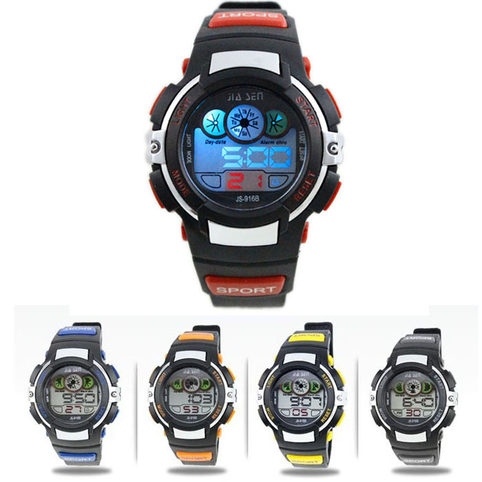 Digital Watch Men Chronograph New Boy Digital LED Quartz Alarm Date Sports Waterproof Wrist Watch Relogio Masculino Sports