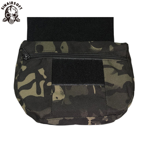 Airsoft Tactical Accessories Storage Bag Hunting Military Army Molle Vest Armor Carrier CRM CRX D3 Chest Rig Drop Dump Pouch Bag
