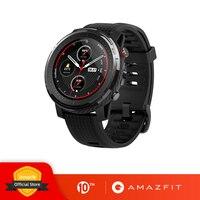 In Magazzino Nuovo Amazfit Stratos 3 Astuto di GPS Della Vigilanza 5ATM di Musica di Bluetooth Dual Mode 14 Giorni Batteria Smartwatch Per Xiaomi 2019
