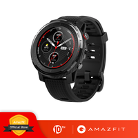 In Stock New Amazfit Stratos 3 Smart Watch GPS 5ATM Bluetooth Music Dual Mode 14 Days Battery Smartwatch For Xiaomi 2019