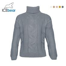 ICEbear Womens Sweaters 2019 Autumn Winter Tops Turtleneck S
