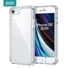 ESR עבור iPhone SE 2020 מקרה 8 7 11 11Pro מקסימום TPU עמיד הלם כיסוי ברור טלפון מקרה שקוף כיסוי אחורי עבור iPhone SE2 מקרי