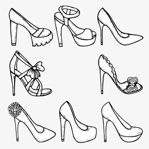 Hello, women's shoes custom shot, contact customer service to buy