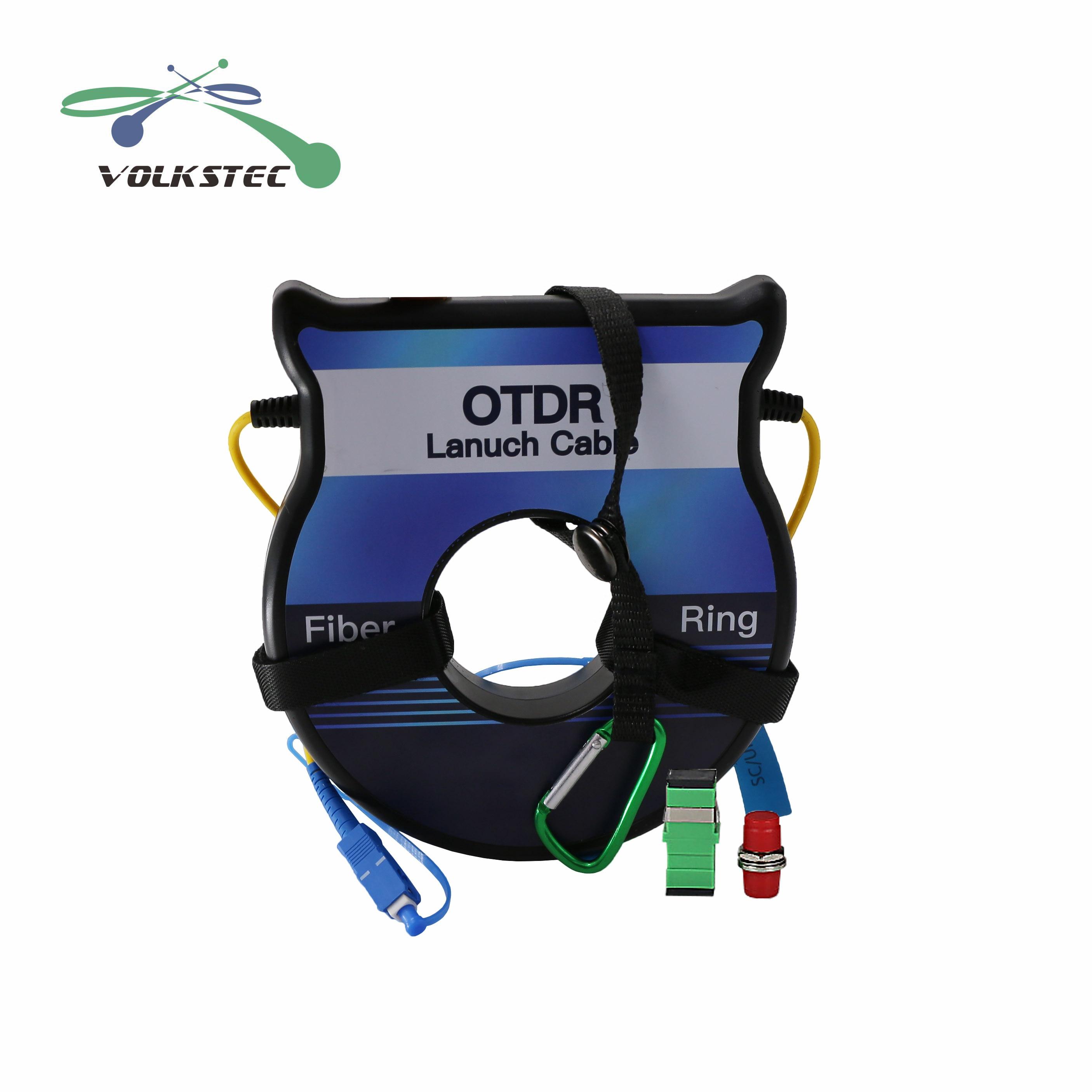 OTDR волоконный кабель для запуска 150 м 300 м 500 м 1 км OM3 50/125мкм волоконный Тестер OTDR волоконные кольца Бесплатная доставка
