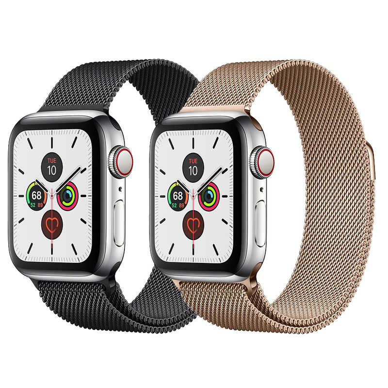 Milanese Loop for Apple watch band 44mm 40mm iwatch strap series 5 4 3 2 42mm 38mm pulseira bracelet Apple watch 5 Accessories