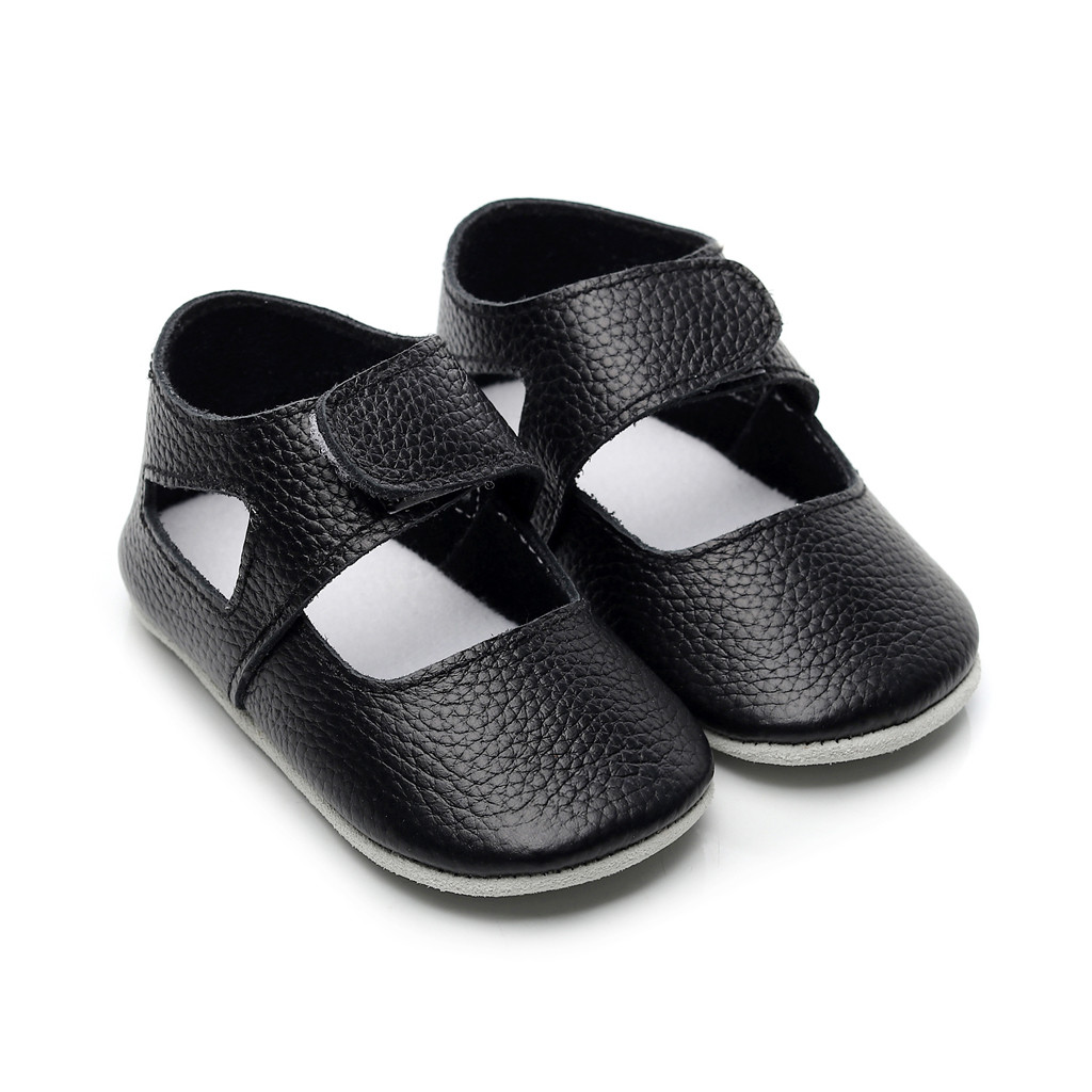 2019 Newborn Baby Girl Princess Shoes Pu Leather First Walkers Soft Sole Flat Toddler Baby Shoes Casual Footwear Crib Shoes