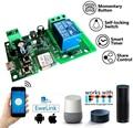 Беспроводной релейный модуль eWeLink, Wi-Fi переключатель, 12 В, 24 В, 32 В постоянного тока, ввод/самоблокировка, автоматизация умного дома, для досту...