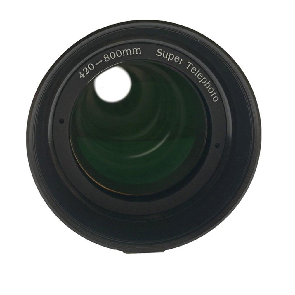 JINTU 420-800mm Téléobjectif pour Nikon D7500 D7200 D5600 D5500 D3400 D5 D810 - 5
