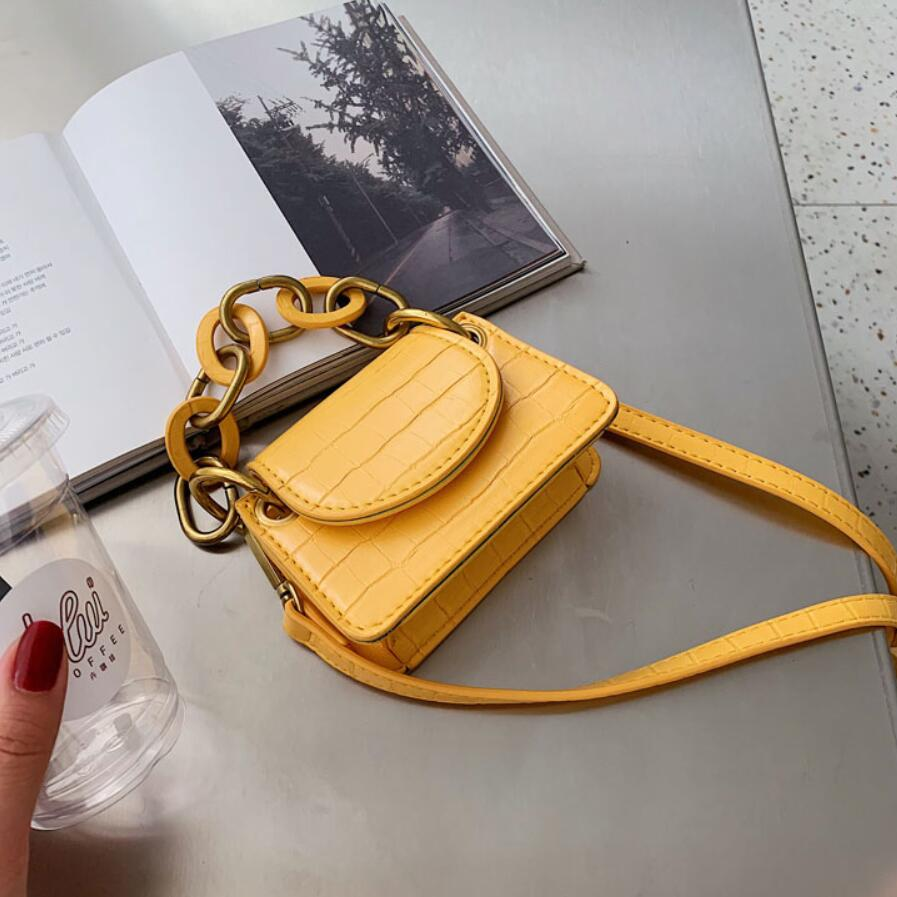 Stone Pattern Mini Tote Bag 2020 Fashion New High Quality PU Leather Women's Designer Handbag Travel Shoulder Messenger Bag