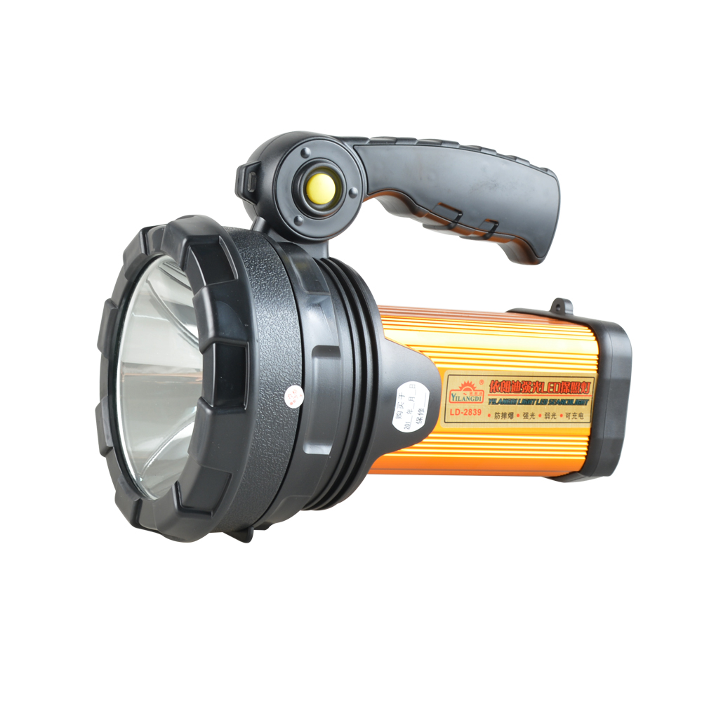 High Power 50W Searchlight Portable LED Work Light Rechargeable Emergency Lighting Flashlight Night Patrol search light|Portable Spotlights| |  - title=
