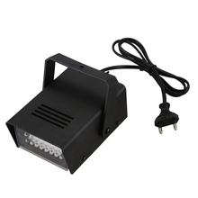 Mini LED Strobe Stroboscope Blitzer White Light Effect AC 100-240V Disco Stage