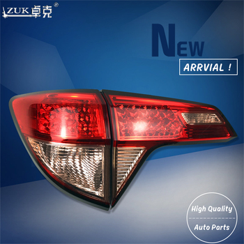 ZUK 4PCS/lot Outer Inner Left Right Taillight Taillamp Tail Lamp For HONDA VEZEL RU1 RU6 2014-2018 Low Configuration Type
