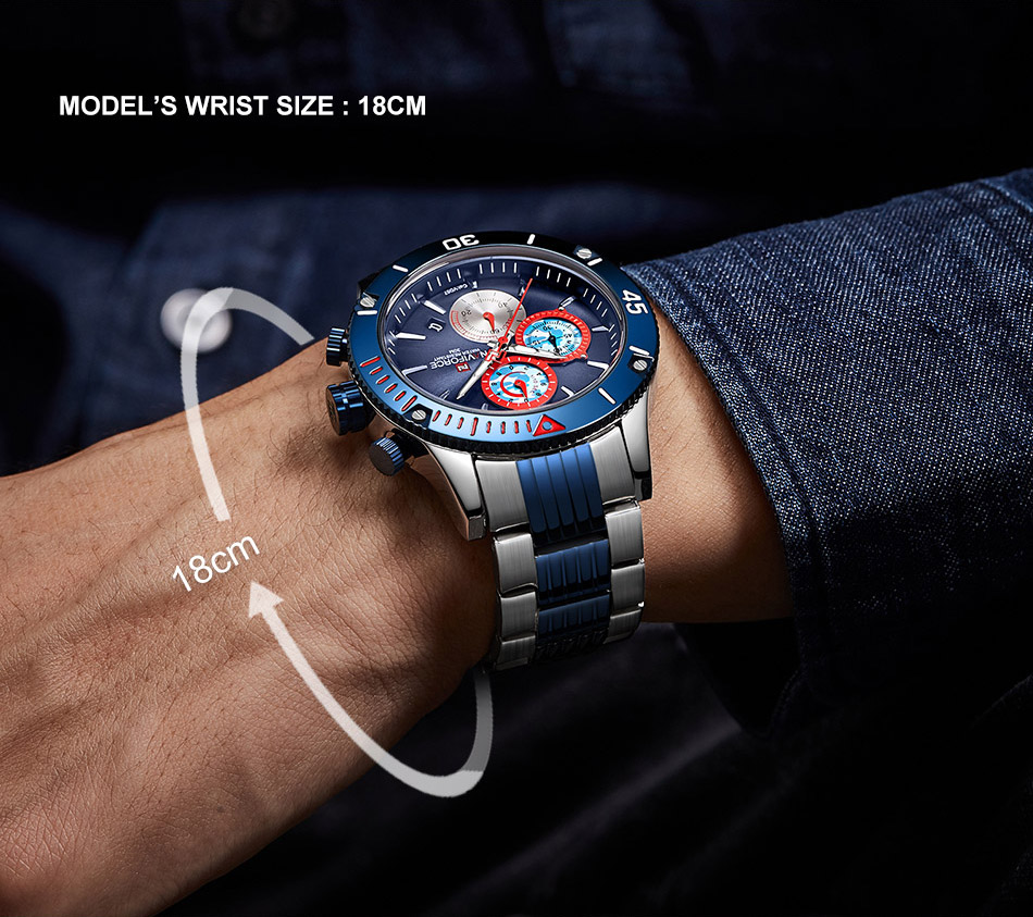 NAVIFORCE 9173 Watch 7