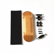 Teak Fingerboard Mini Finger Skateboard Plastic Finger Skate Scooter Throwbacks Original Boys Skateboard Toy for competition