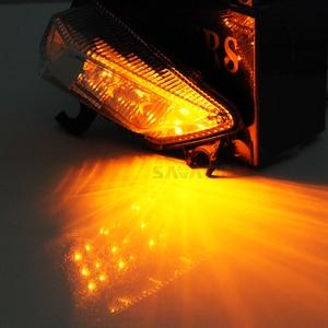 Image 5 - สัญญาณไฟเลี้ยวLEDด้านหน้าสำหรับคาวาซากิZ1000SX NINJA 1000/R 2011 12 13 14 15 2016 รถจักรยานยนต์อุปกรณ์เสริมไฟกระพริบ