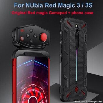 Перейти на Алиэкспресс и купить Противоударный защитный ТПУ мягкий чехол для Nubia Red Magic 3/3 S крышка с рассеиванием тепла с оригинальной Красной магической игры PUBG геймпад