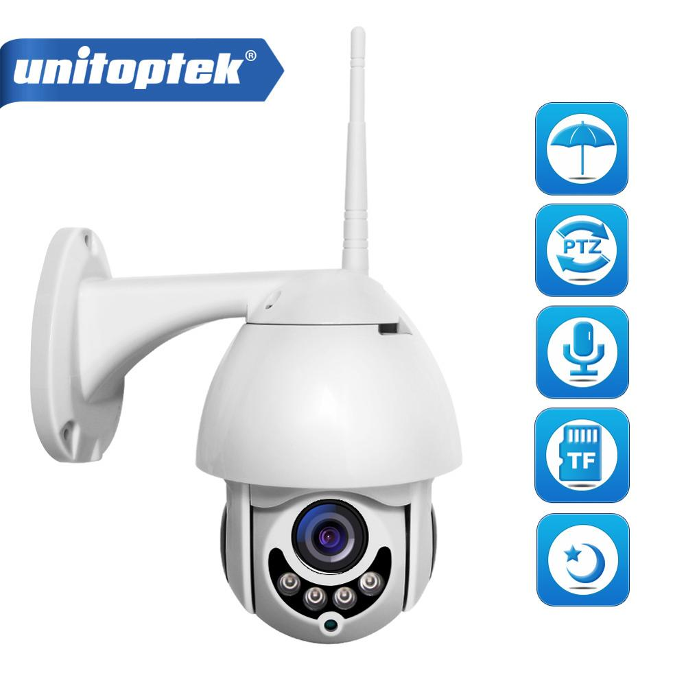 Mini WiFi PTZ IP Camera Outdoor Waterproof 1080P 2MP Wireless Speed Dome Camera IR 30M P2P APP XMEye Security WI-FI Camera Onvif