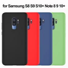 Силиконовый мягкий чехол для samsung S9 с полной защитой для samsung Galaxy S8 S9 S10 5G Plus S10e Note 10 Plus 9 8 чехол