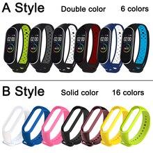 Удивительный ремешок для xiaomi mi band 5 4 3 браслет ремешок correa для xiao miband 5 4 ремешок smart часы запястье для Mi Band 3 4 5