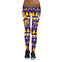 Christmas Digital Printed lady Pants for Running Fitness Dance and s leggings
