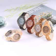 цены Womon Watches Unique Wood Design Round Dial Fashion Womens Watches Woman Quartz Watch Casual Ladies Watch Bracelet reloj mujer